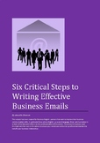 ESOL Email - Six Critical Steps to Creating Business Emails - Ebook