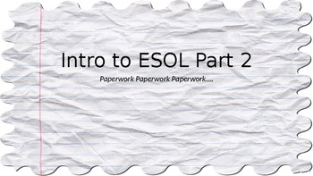 ESOL Guide Part 2