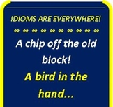 ESOL Vocabulary That's Never Taught!: IDIOMS Are Socializi