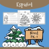 ESPAÑOL - Actividades de invierno para preescolar, kínder