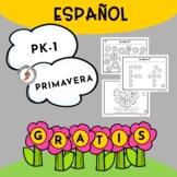 ESPAÑOL - Actividades de primavera para preescolar, kínder