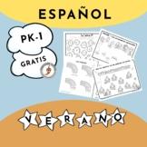 ESPAÑOL – Actividades de verano para PK-1