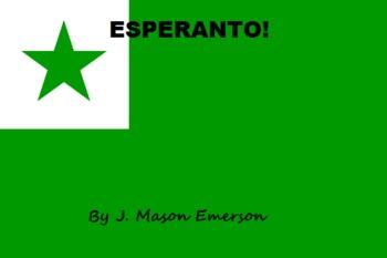 ESPERANTO (ZAMENHOF'S INTERNATIONAL LANGUAGE)