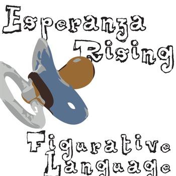ESPERANZA RISING Figurative Language Bundle