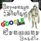 ESPERANZA RISING Grammar Package Commas Conjunctions (Digital Distance Learning)