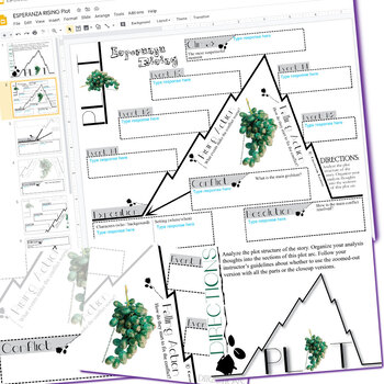 Esperanza rising plot chart organizer arc freytag created for esperanza rising plot chart organizer arc freytag created for digital ccuart Choice Image