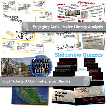 Esperanza rising unit novel study literature guide by created for esperanza rising unit novel study literature guide ccuart Gallery