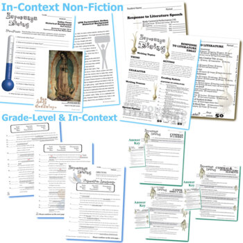 Esperanza rising unit novel study literature guide by created for esperanza rising unit novel study literature guide ccuart Choice Image