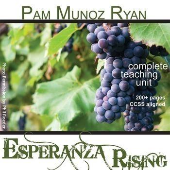 ESPERANZA RISING Unit - Novel Study Bundle - Literature Guide