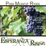 ESPERANZA RISING Unit Plan - Novel Study Bundle - Literature Guide