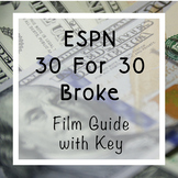 ESPN 30 For 30 Broke   Personal Finance Film Guide With Key