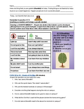 Espn 30 For 30 Worksheets & Teaching Resources   TpT