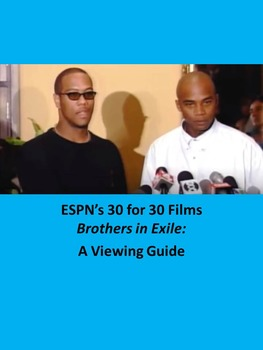 ESPN's 30 for 30 Films-Brothers in Exile: A Viewing Guide