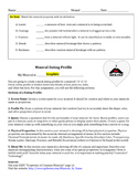 ESRT Mineral Dating Profile