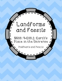 ESS.1 Earth's Place in the Universe - Landforms, Fossils,