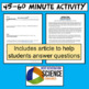 ESS1.A MS-ESS1-2 The Universe & Its Stars Astronomy Activity Scale Space Systems