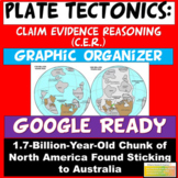 Google Ready CER Claim Evidence Reasoning Plate Tectonics Distance Learning
