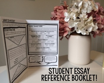 ESSAY STUDENT HANDBOOK