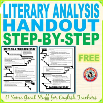ESSAY WRITING PROCESS HANDOUT Steps to a Fabulous Essay!