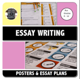 ESSAY WRITING - Teaching essay structure handouts, templat
