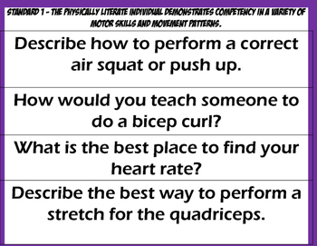 ESSENTIAL QUESTIONS Fitness