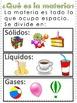ESTADOS DE LA MATERIA - STATES OF MATTER IN SPANISH