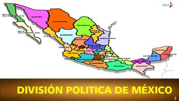 ESTADOS DE LA REPÚBLICA MEXICANA Y SUS CAPITALES PARA IMPRIMIR