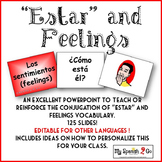 ESTAR AND FEELINGS:  Spanish Powerpoint