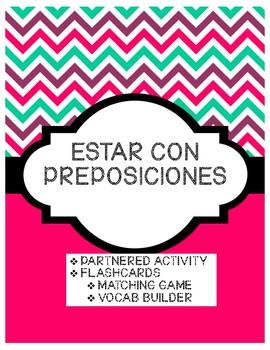 ESTAR CON PREPOSICIONES PARTNERED ACTIVITY
