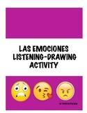 ESTAR + EMOCIONES LISTENING AND DRAWING ACTIVITY