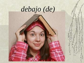 ESTAR and Prepositions (location words)