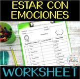 Estar y Emociones Worksheet Avancemos 1 Unidad 2