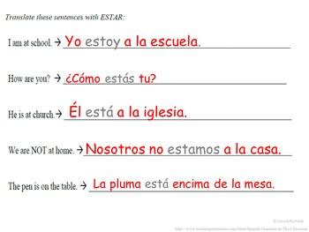 ESTAR (to be) Conjugation and Usage Intro: Spanish Quick Lesson