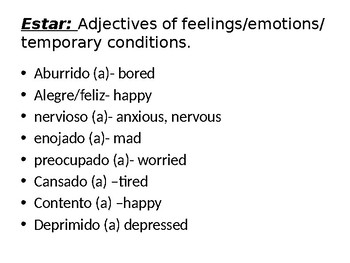 ESTAR with Emotions Power Point