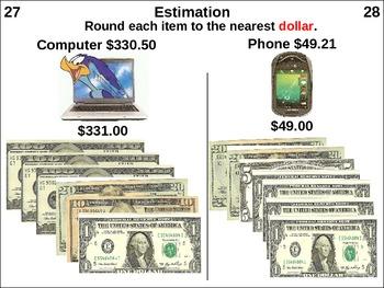 Estimation: Round to Nearest Dollar (animated)