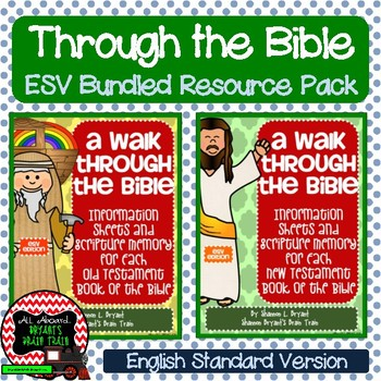 ESV Bible Verses, Background Info, and Student Response Sheets (School License)