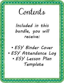ESY Bundle