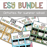 ESY Bundle   Activities for Special Education