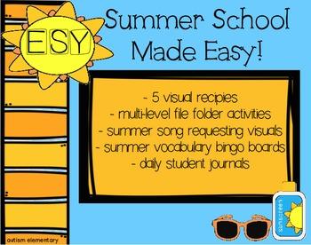 No-Prep Activities for Special Education Summer School