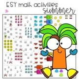 ESY Math activities: Special Education Summer