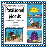 ESY Preposition Activities (Positional Words) Underwater Fun