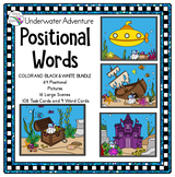 ESY Preposition Activities (Positional Words) Underwater Fun