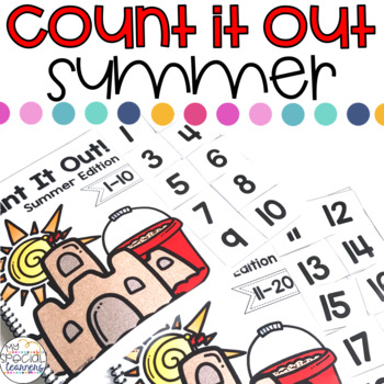 ESY Summer Count It Out Adapted Book