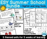 Extended School Year (ESY) Summer School Bundle