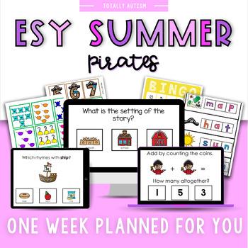 ESY Summer School Unit 3 Pirates