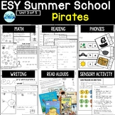 ESY Summer School Unit 3 Pirates- BOOM decks + Interactive PDFs