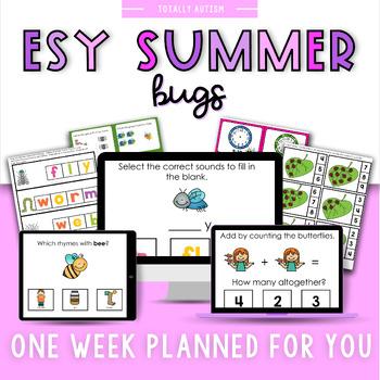 ESY Summer School Unit 4 Bugs