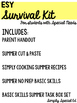 ESY Survival Kit for Special Education
