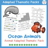 Weekly Thematic Pack: Ocean Animals