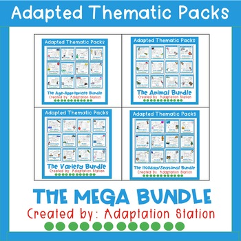 Adapted Thematic Packs: Mega Bundle